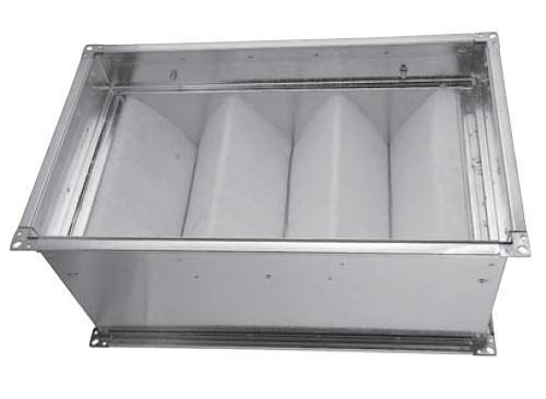 Фильтр кассетный канальный прямоугольный SFB 80-50